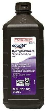 ¿El peróxido de hidrógeno mata los hongos en las uñas de los pies?  ~ Remedios caseros ~
