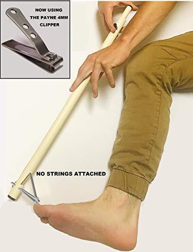Cómo cortar las uñas de los pies si no puedes alcanzarlas